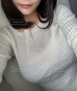微笑む女性の写真・画像素材[3851479]