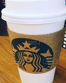 一杯のコーヒーの写真・画像素材[1032414]