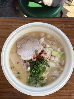 濃厚鶏白湯ラーメンの写真・画像素材[1031154]