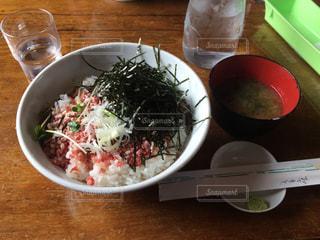 トントロ丼の写真・画像素材[1031221]