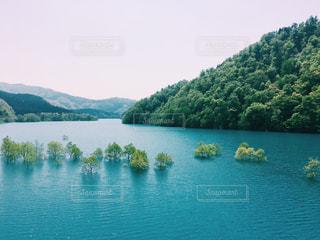美しい湖の写真・画像素材[1030908]