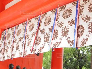 神社にての写真・画像素材[1033230]