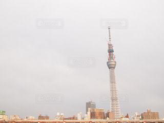 建築中のタワーの写真・画像素材[1033231]