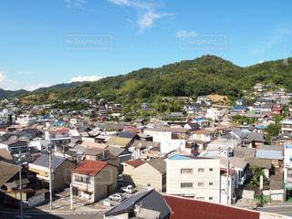 島の町並みの写真・画像素材[1033433]