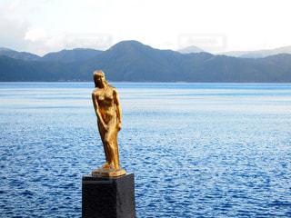 田沢湖の写真・画像素材[1035265]