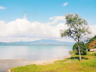 田沢湖の写真・画像素材[1038010]