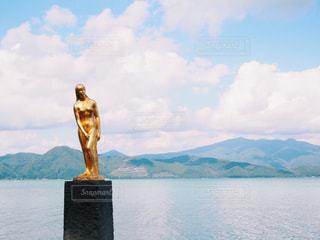 田沢湖の写真・画像素材[1038015]