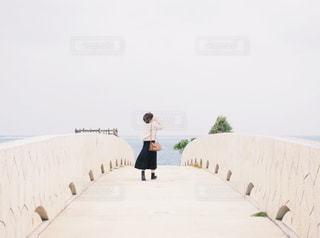 橋の上の写真・画像素材[1039848]