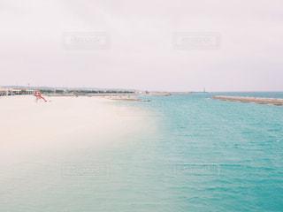沖縄の美しい水色の写真・画像素材[1039849]