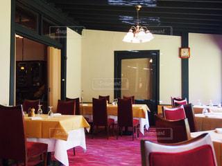 ホテルのレストランの写真・画像素材[1039857]