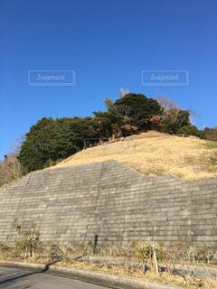 近所の丘の写真・画像素材[1052788]