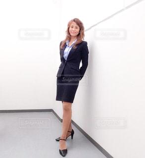 ビジネススーツの女性の写真・画像素材[1857714]