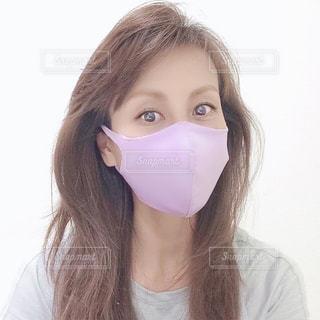 マスクをした女性の写真・画像素材[3296938]