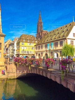 ヨーロッパの街並みの写真・画像素材[3369671]