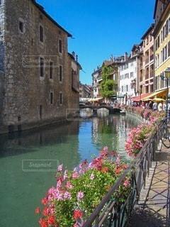 ヨーロッパの街並みの写真・画像素材[3401237]