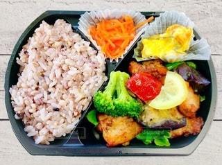 ご飯と野菜の料理の写真・画像素材[3459867]