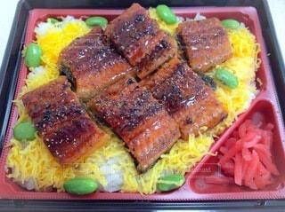 きれいなお弁当の写真・画像素材[3695389]