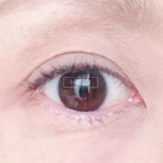 人の顔のクローズアップの写真・画像素材[3700951]
