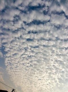 空の雲の群の写真・画像素材[3760698]