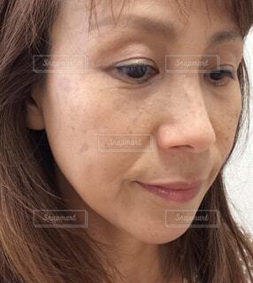 女性のクローズアップの写真・画像素材[4446582]