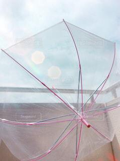 傘のクローズアップの写真・画像素材[4584407]
