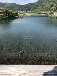 錦帯橋からの眺めの写真・画像素材[1030951]