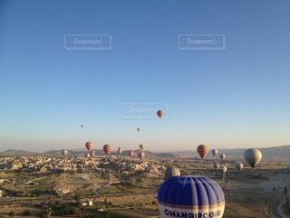 気球の写真・画像素材[33824]