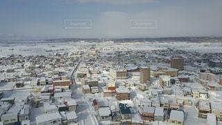 都市の空中写真の写真・画像素材[1031493]