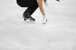 フィギュアスケートのペアの写真・画像素材[1037665]