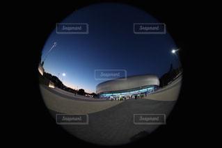 夜のスタジアムの写真・画像素材[1037670]