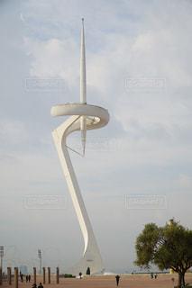 バルセロナのオリンピックオブジェの写真・画像素材[1042807]