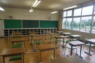 教室の写真・画像素材[1042888]
