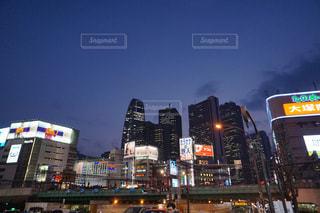 都市の高層ビルの写真・画像素材[1042923]