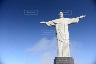 コルコバードのキリスト像の写真・画像素材[1042933]