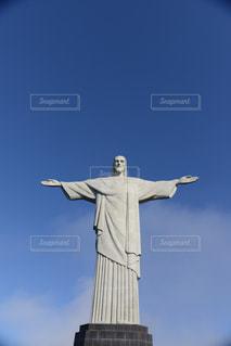 コルコバードのキリスト像の写真・画像素材[1042934]