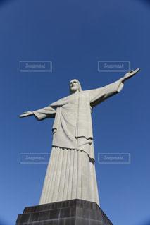 コルコバードのキリスト像の写真・画像素材[1042935]