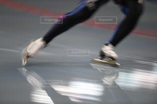スピードスケートの写真・画像素材[1044873]