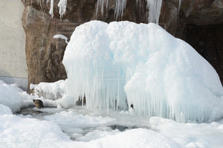 氷瀑の写真・画像素材[1045057]