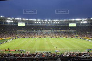 人でいっぱいスタジアムの写真・画像素材[1045097]