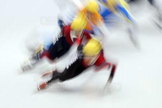ショートトラックスケートの写真・画像素材[1045121]