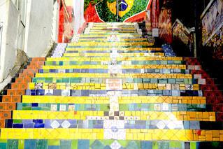 セラロンの階段の写真・画像素材[1045130]