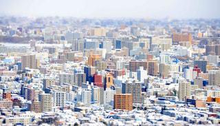 都市のミニチュア風にの写真・画像素材[1045849]