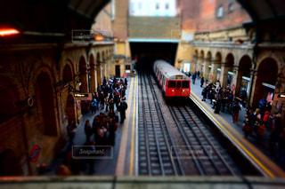 ロンドンの地下鉄の写真・画像素材[1046657]