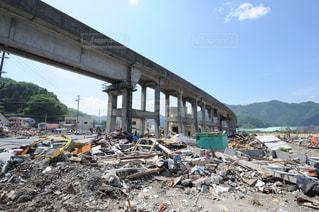 震災後の写真・画像素材[1048528]