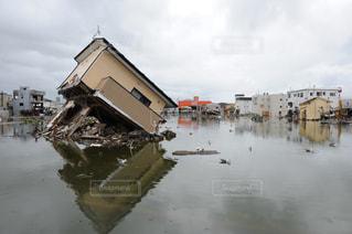 震災後の写真・画像素材[1048530]