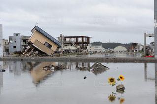 震災後の写真・画像素材[1048533]
