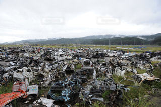 震災後の写真・画像素材[1048534]