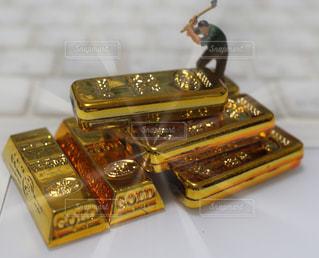 金塊の写真・画像素材[1048693]