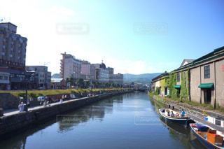 小樽運河の写真・画像素材[1048756]