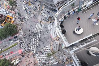 スクランブル交差点の写真・画像素材[1178935]
